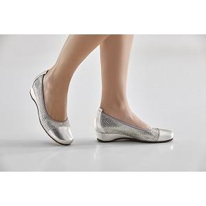 Calzado Señora Eclat Plata / Piton Plata