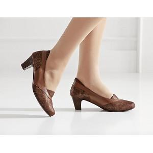 Zapato Señora Tacon Pala Lycra