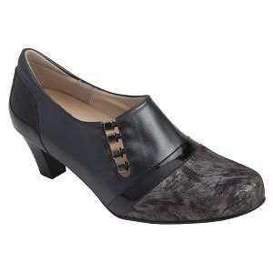 Zapato Señora Tacon Combinado Pala Lycra
