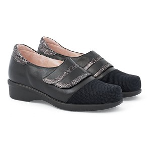 Zapato Señora Pala Lycra Velcro