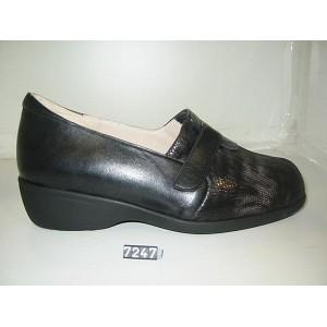 Zapato Señora Velcro Pala Lycra