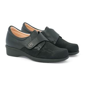 Zapato Señora Forro Plasto Negro