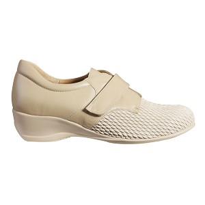 Zapato Diabetico Grano de Arroz Beig