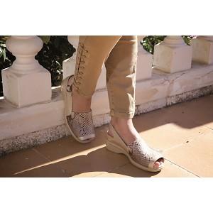 Zapato Sandalia Señora Lycra Siria Ceramic