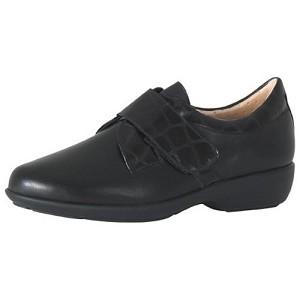 Zapato Señora Forro Plasto Canada Negro