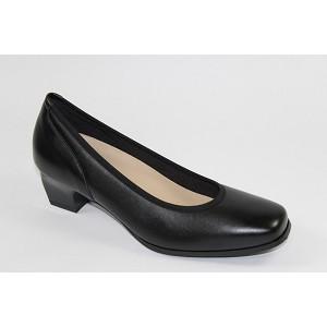 Zapato Señora Salon Vivo Diabetico Negro