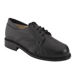 Zapato Cro. Negro Suela Cuero