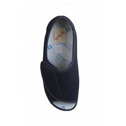 Comoda Velcro Abierta Azul