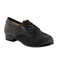 Zapato Señora Punto Panal Negro